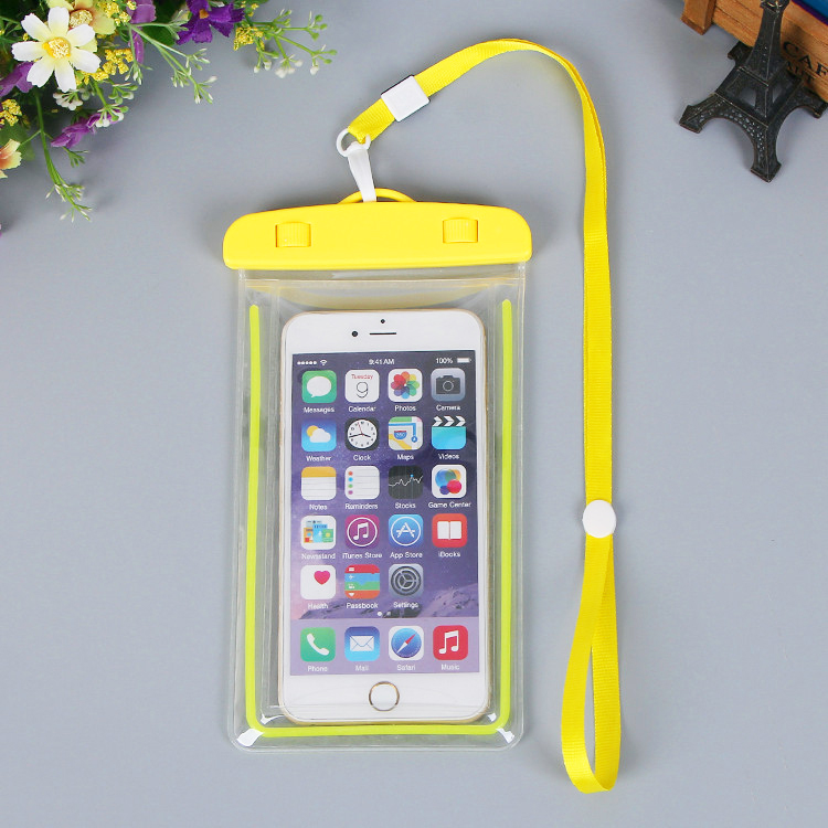Pvc mobile phone waterproof bag wholesale
