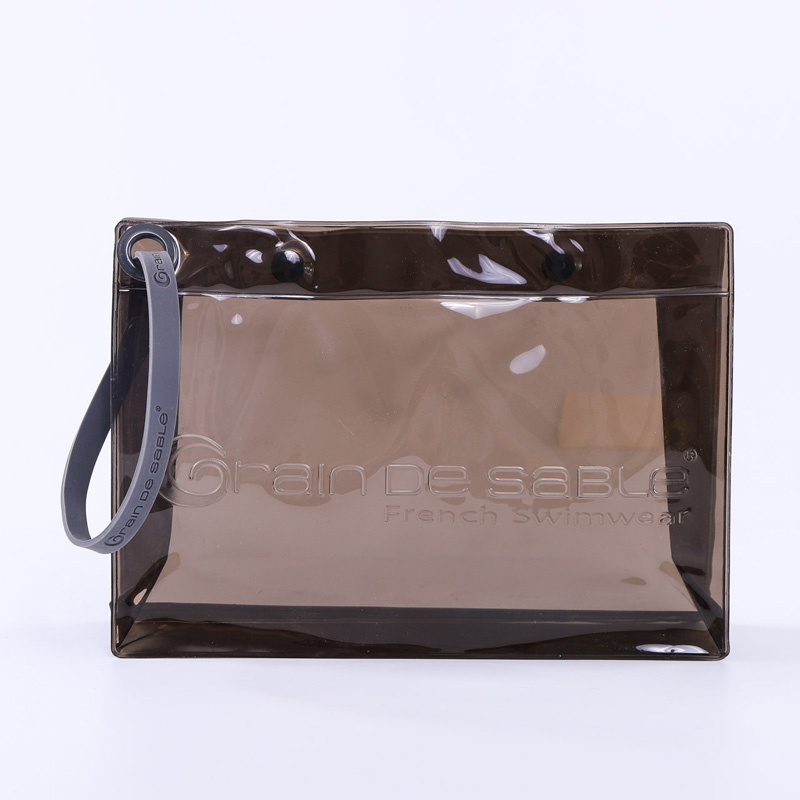 waterproof pvc tote bag silicone portable embossed logo