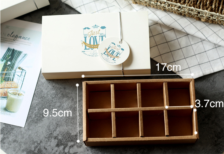 Drawer candy biscuit chocolate packaging carton