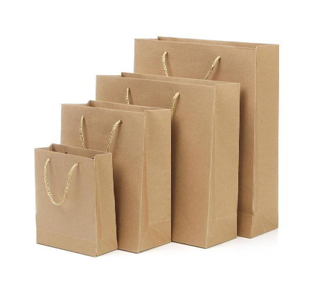 Analysis of the process flow and market development of kraft paper bags