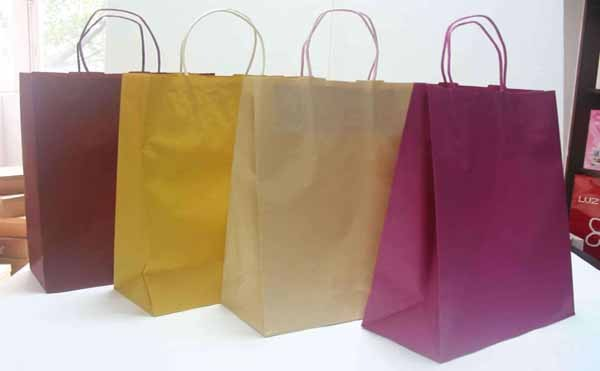 How to deal with bubbles on the printed ink marks when the shopping paper bag is printed