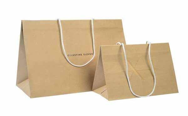 Tote bag paper bag manufacturing method