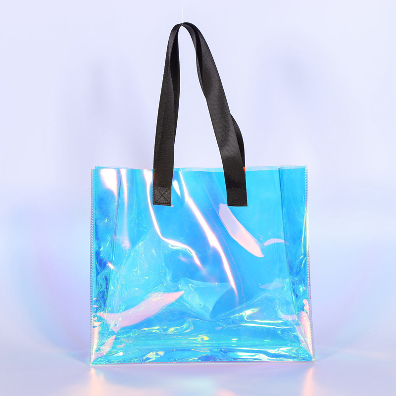 laser pvc environmentally friendly fashion bag