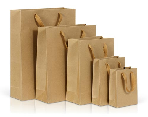 What is the reason why kraft paper bags are more