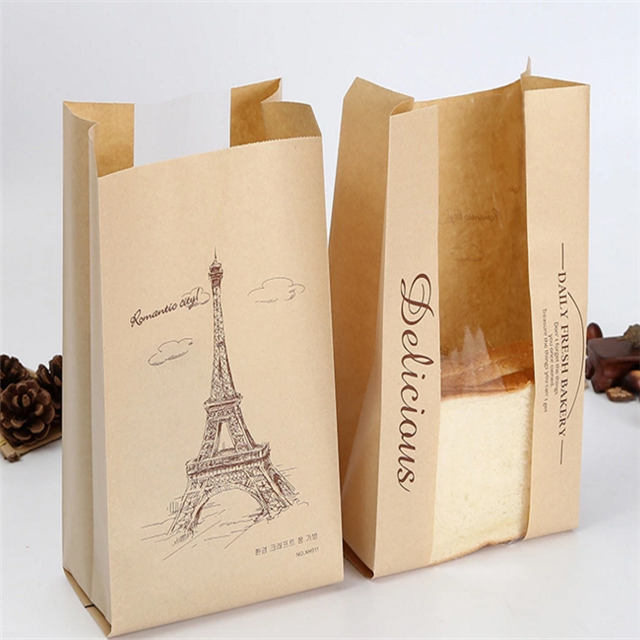 The benefits of custom food paper bags?