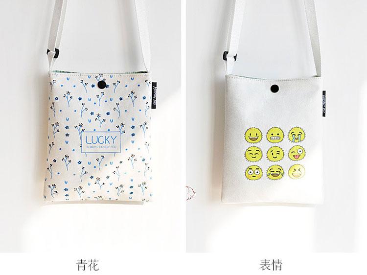 Canvas Bag Mobile Phone Bag