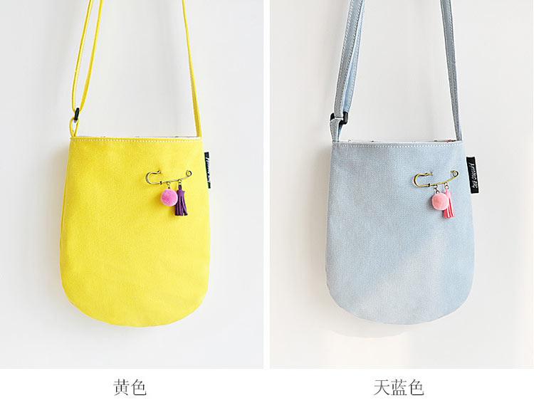 Lovely canvas shoulder slung bag