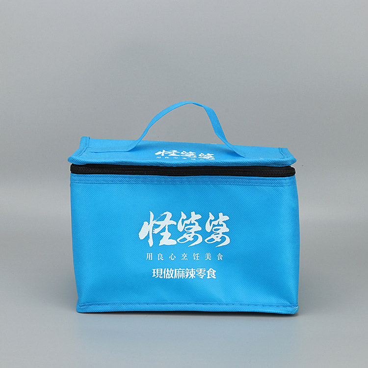 Non-woven ice pack aluminum foil ice bag picnic bag insulation box