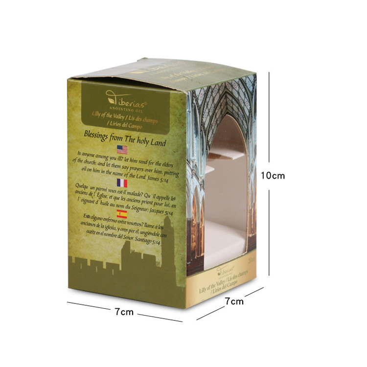 Pvc window medicine health care products packaging color box