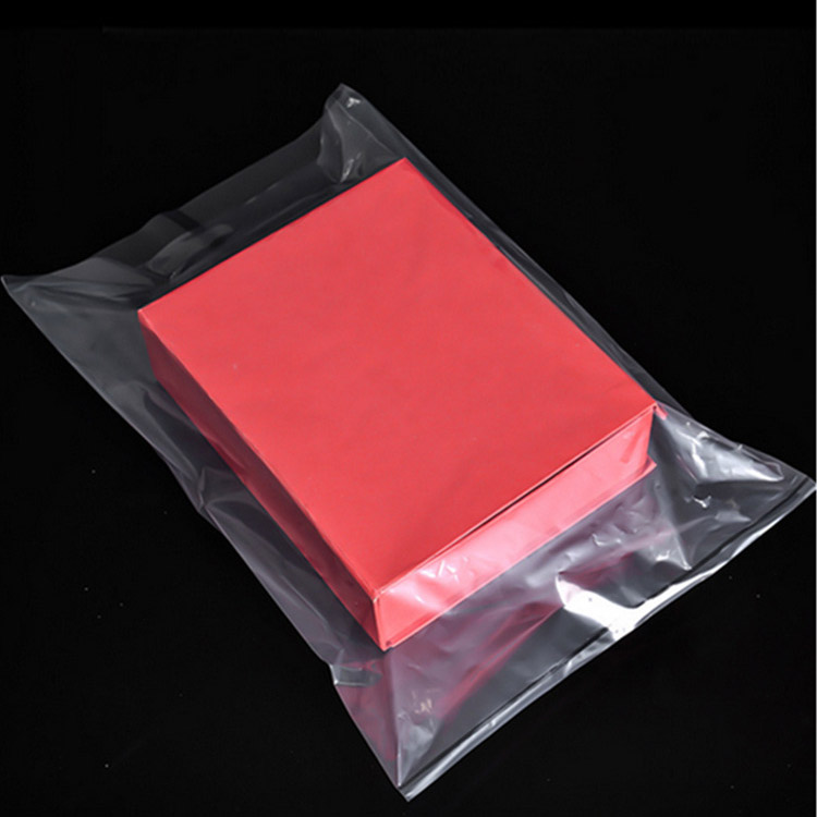 Transparent thick pe packaging bag flat plastic bag