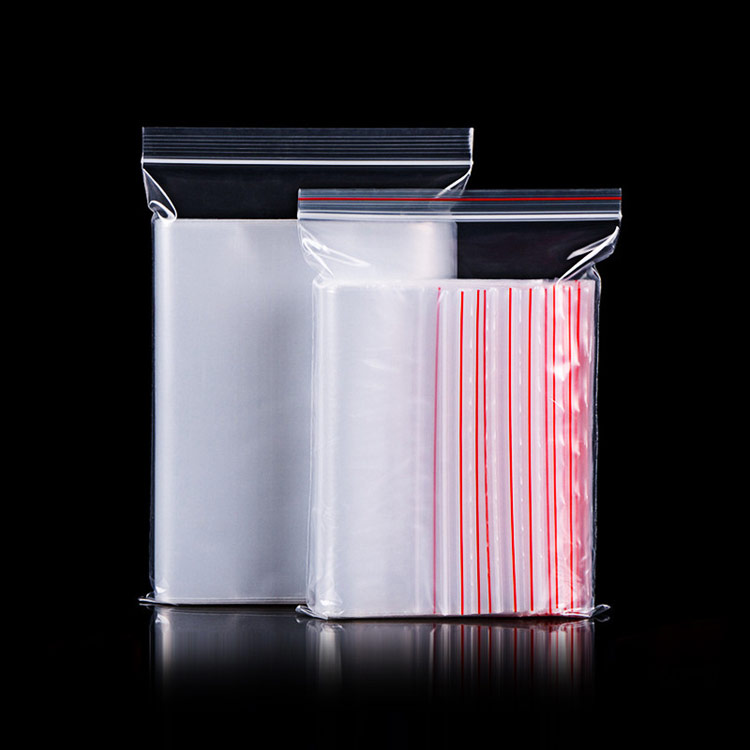 Ziplock bag transparent plastic bag PE sealed bag